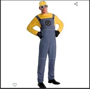 Despicable Me Dave Minion Halloween Costume Adult